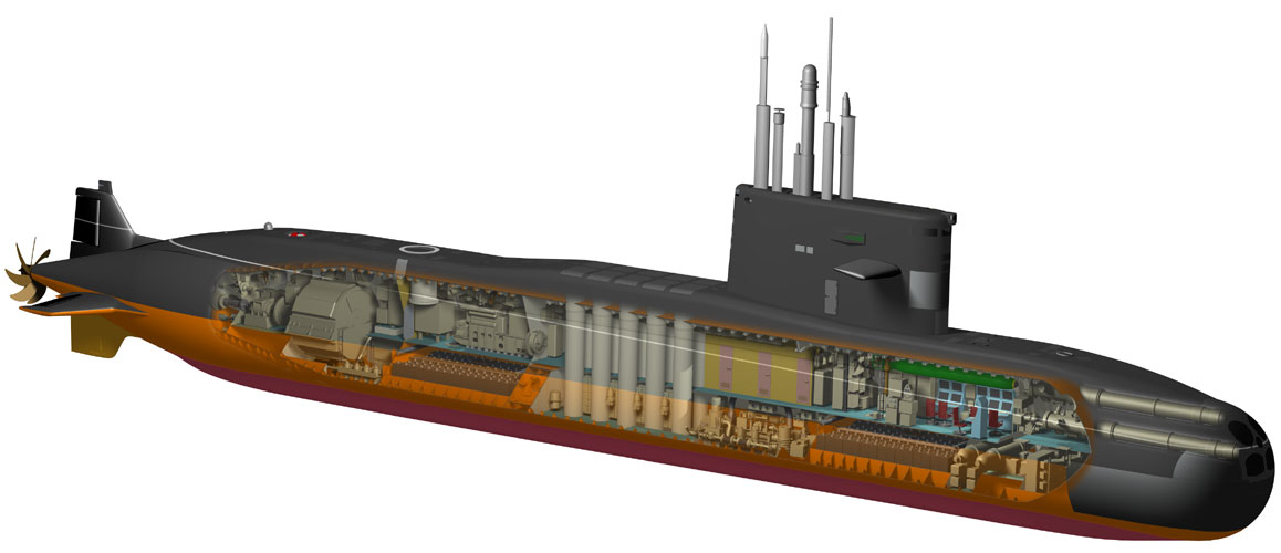 характеристики подводной лодки амур-1650